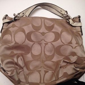 COACH sig C tlc bag for parts or repair